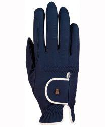 Roeckl Lona Handschoen Blauw/Wit