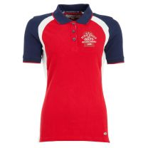 BR  BRPS poloshirt Aries Royal Red