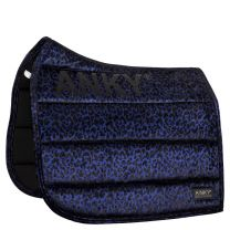 Anky pad Leopard print dressuurdekje Blue