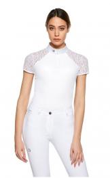 EGO7 Florentine Shortsleeve wedstrijdshirt White/White