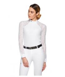 EGO7 Florentine longsleeve wedstrijdshirt White/White