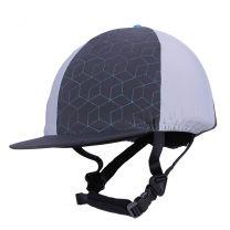 QHP Eventing Cap Cover Eldorado Titanium
