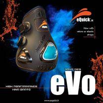 eQuick eVo achterbeschermers klittenbandsluiting