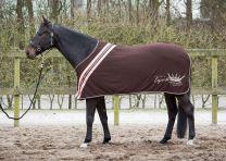 Harry's Horse Jersey Fleecedeken Winter 17 Seal Brown