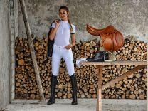 EGO7 Polo Shortsleeve wedstrijdshirt Wit
